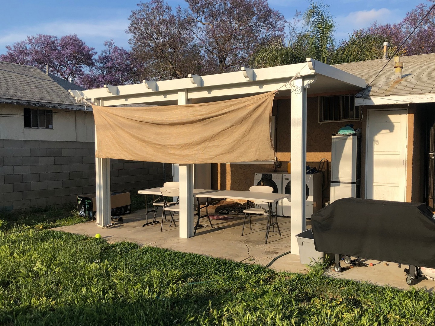 Patio Cover Project in Santa Ana