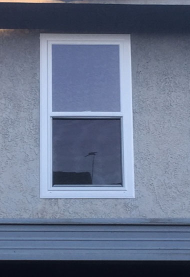 Window Replacement in Corona Before After