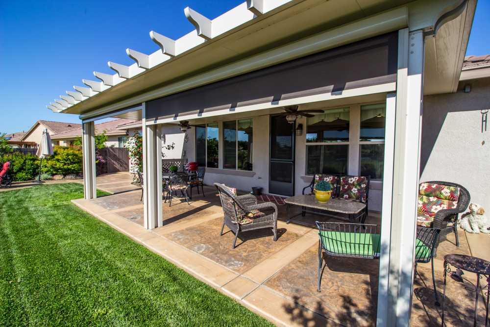 Stay Cool with the Right Patio Cover