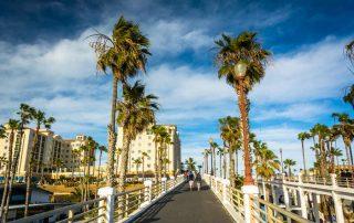 Walkway,To,The,Pier,,In,Oceanside,,California.