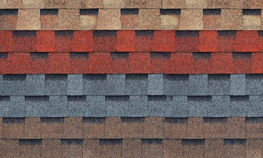 Varying Roof Colors