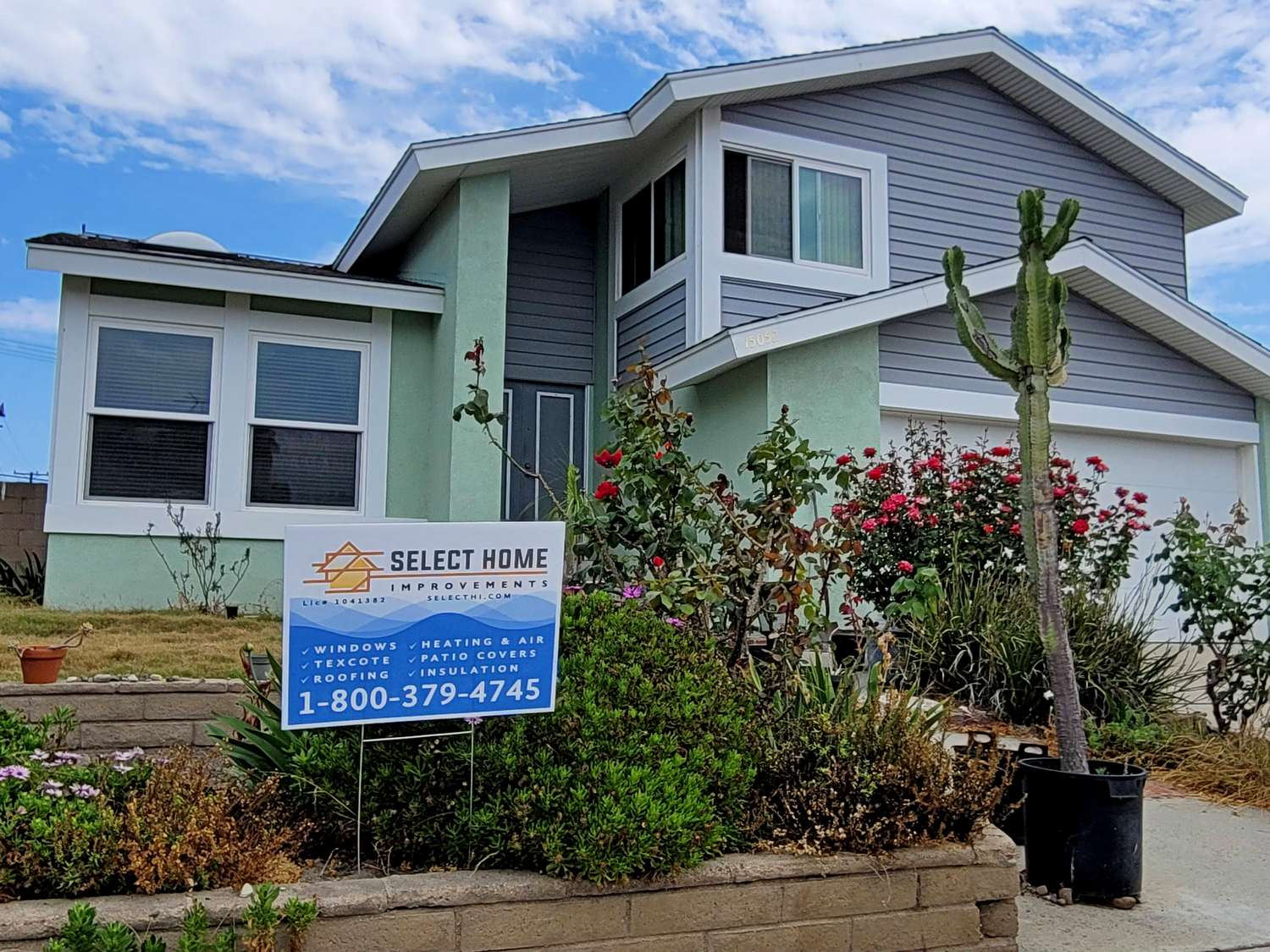 Coolwall Exterior House Paint Application in Westminster CA