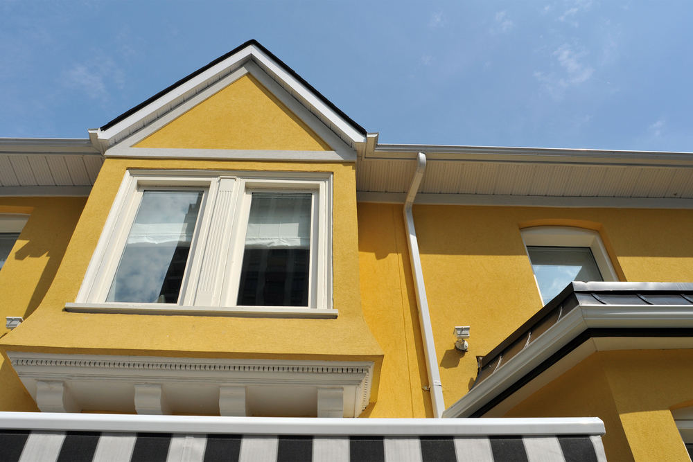 Vibrant home with texcote coolwall application